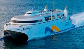 Galileo Buquebus LNG marine vessel