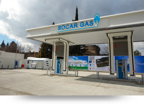 SOCAR gas Nanobox