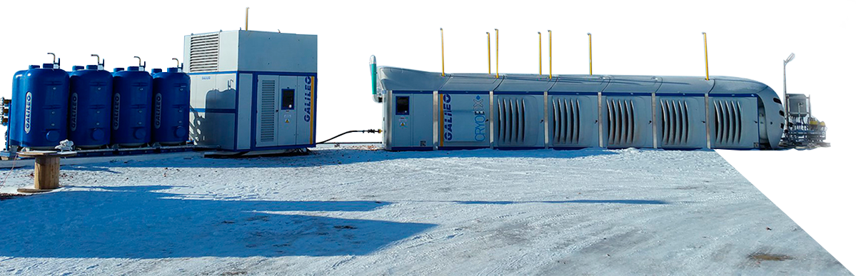 Galileo Technologies Cryobox allows for small scale LNG production.