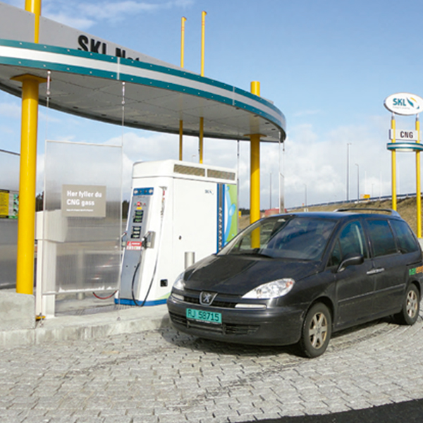 CNG filling station Canada