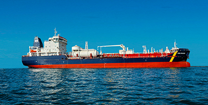 Liquefied Natural Gas dual fuel engines for cargo vessels