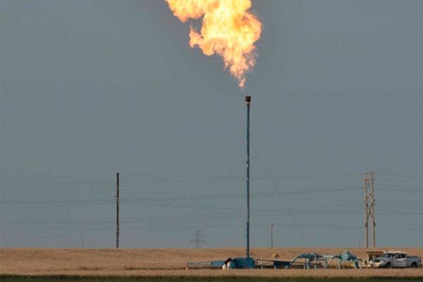 Flared gas Canada