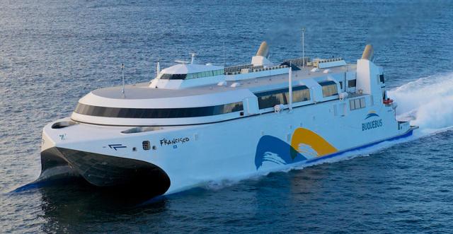 Galileo Technologies Buquebus LNG marine vessel